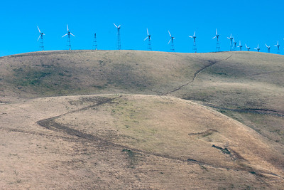 Windmills on 580 fwy