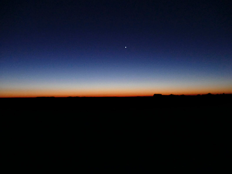 BEFORE SUNRISE BADLANDS