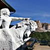 845 Crazy Horse Model and Statue