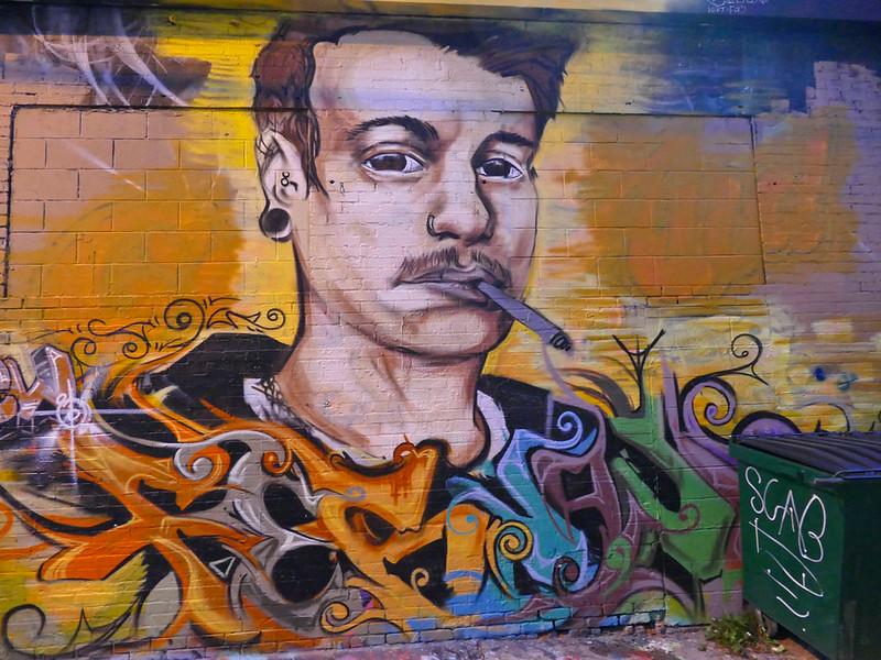 958 Alley Graffiti
