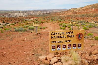 Horseshoe Canyon Trailhead