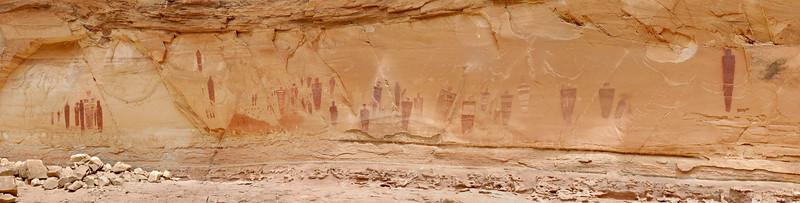 The finest rock art panel in North America