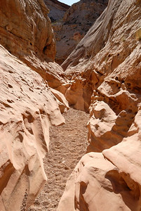 Little Wild Horse Canyon beggining to narrow