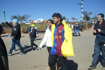 Argentina vs Korea Republic at Soccer City in Johannesburg