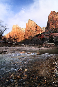 Three Patriarchs and the Virgin River