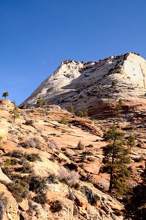 Barren peak