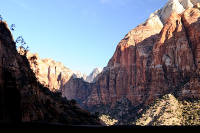 Pine Creek Canyon from the tunnell