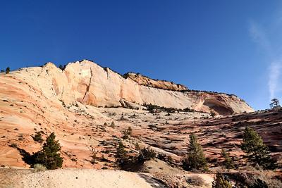 Cliffs above Clear Creek