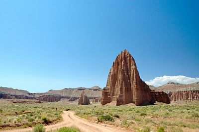 Lower Cathedral Valley