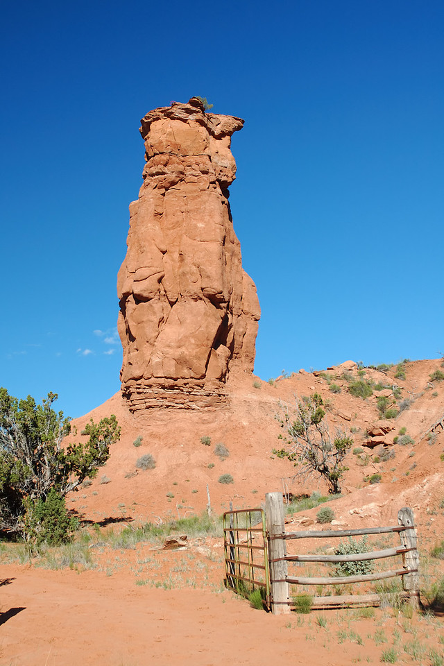 <b>Fred Flintstone Spire</b> along the panorama trail.