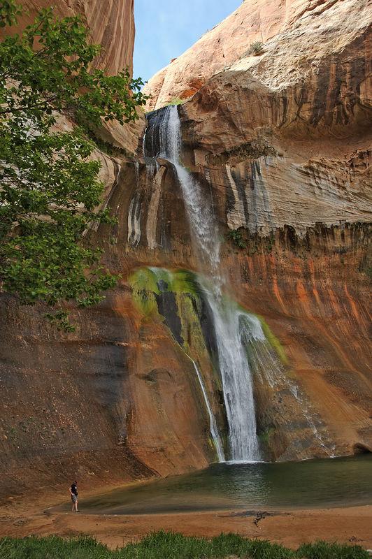 "<a href=""http://www.utah.com/hike/calf_creek.htm"" target=""_blank""> Lower Calf Creek Falls</a>"
