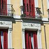Madrid balconies & shutters.