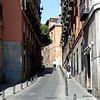 Madrid alley way.