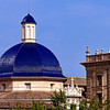 Blue dome of Valencia's Museo de Bellas Artes San Pio V.