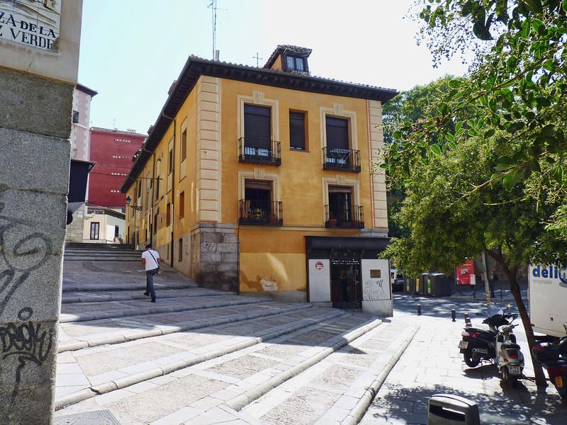 Madrid steps.