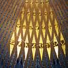 Sagrada Familia ceiling.