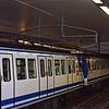 The Madrid metro.