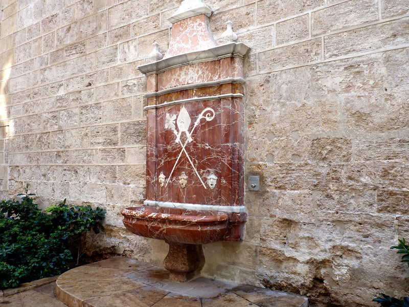 Old Valencia fountain.