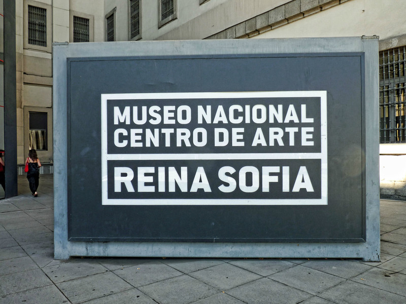 The Reina Sofia Art Museum - a fabulous collection & home of Guernica.