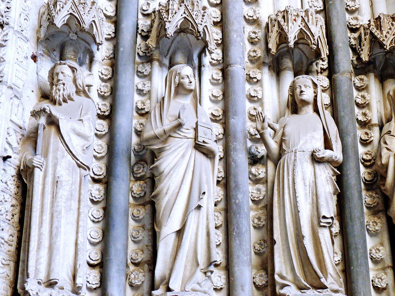 Cathedral of Toledo detail.