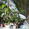 Atocha train station interior.