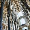 Sagrada Familia's central nave.