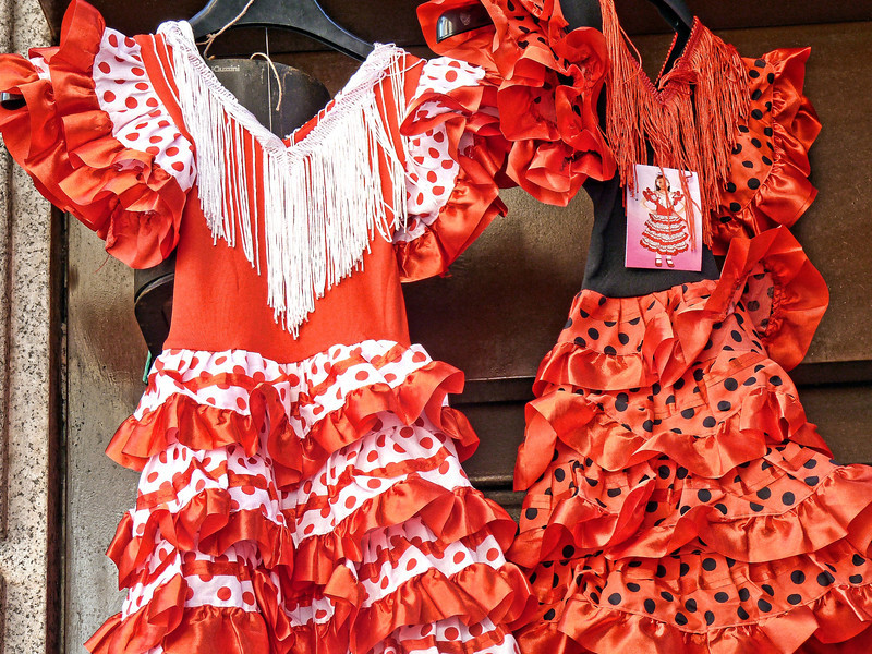 A little Flamenco dress for your niña chiquita?