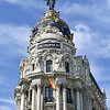 The Metropolis - an office building on the Gran Via built for an insurance company in 1911.