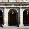 Casa de la Panaderia's arches.