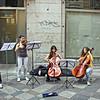 Madrid street musicians.