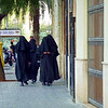 Nuns on the street in Valencia.