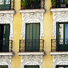 Beautiful balconies & ornamentation.