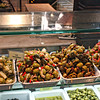 Antipasto - olives & more at Madrid's Mercado San Miguel.