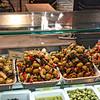 Antipasto - olives & more at Madrid's Mercado San Miguel.
