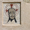 A Moorish face in the wall.