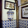 A corner of the room we dined in at Botin's.