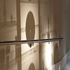 Shadows on the wall in Valencia's Museo de Bellas Artes San Pio V.