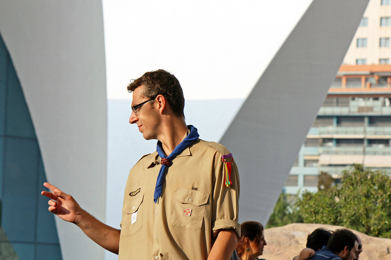 Scout leader.