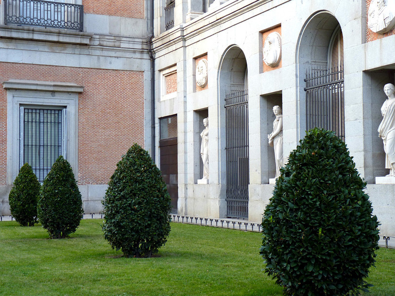 Prado wall sculptures.