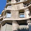 Gaudi's Casa Milà, better known as La Pedrera, 'the cave' - a UNESCO World Heritage site.
