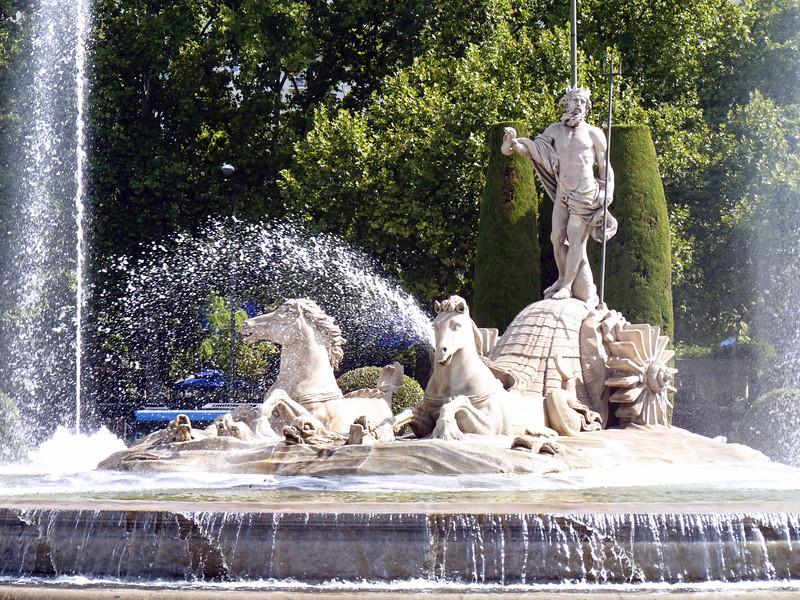The Neptune Fountain on Paseo del Prado. (1786)