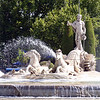 The Neptune Fountain on Paseo del Prado. (1786)