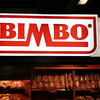 The Bimbo store underground in the Madrid metro.