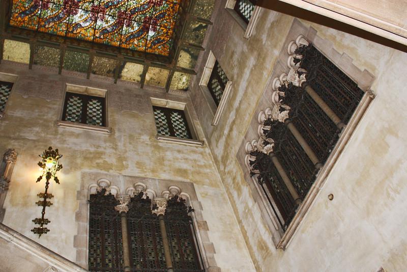 Interior of Casa Amatller.