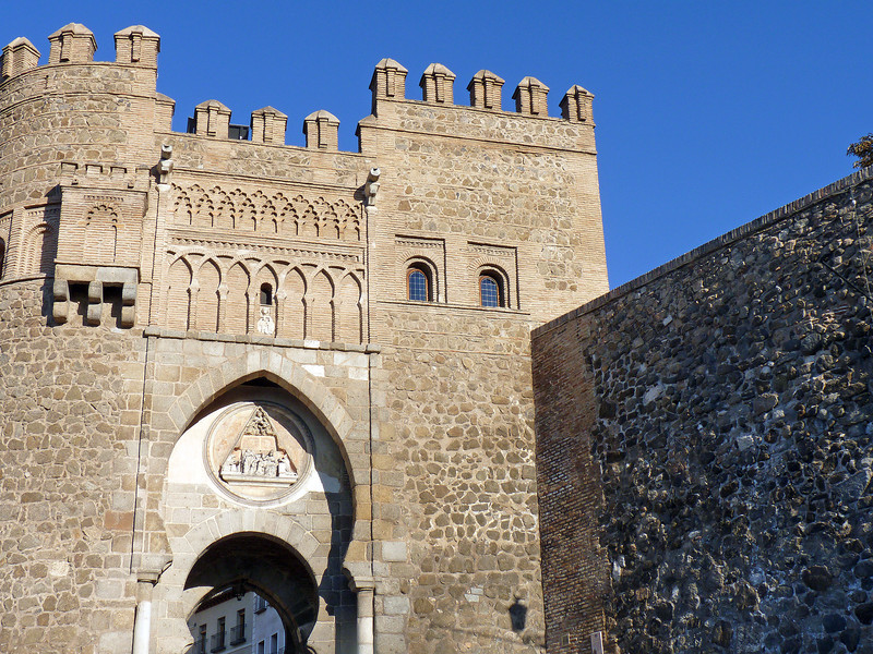 The Puerta del Sol was once the main gateway into the walled city of Toledo. (10th Century)
