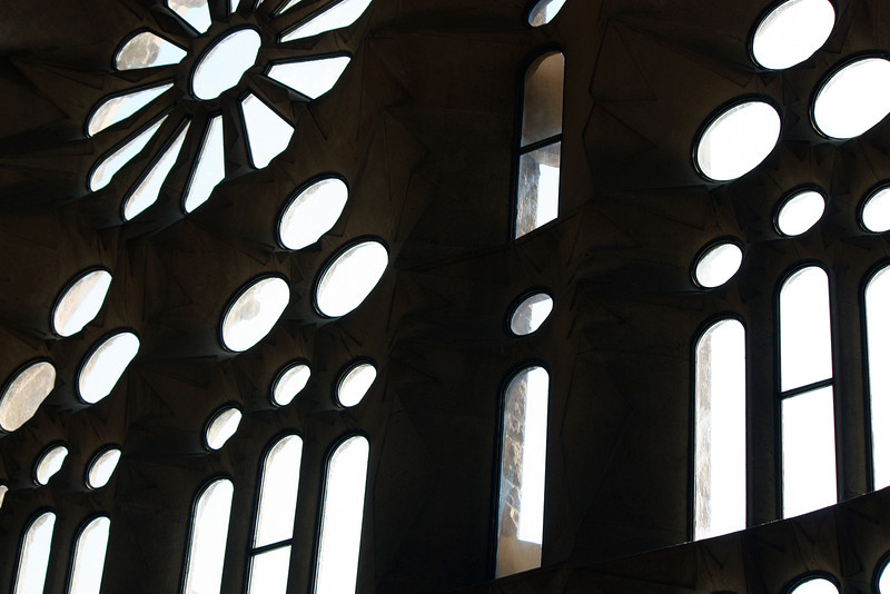 Sagrada Familia windows.
