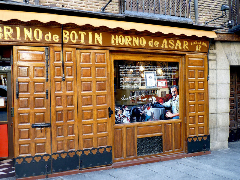 "But he did eat here - the world's oldest restaurant, Botin, established in 1725. Botin was one of Hemingway's favorites restaurants & is mentioned in, ""The Sun Also Rises""."