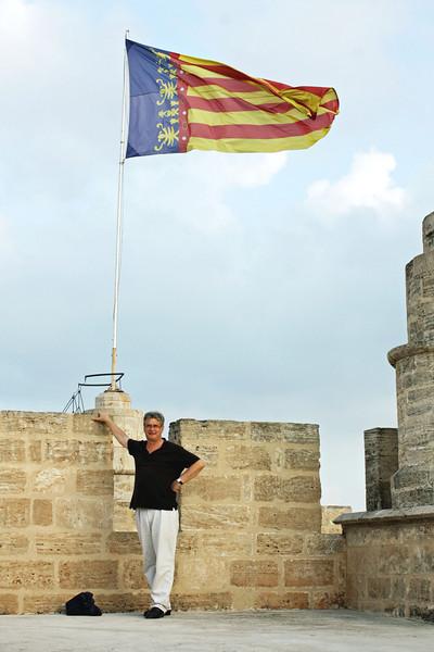 Rustem atop the Serranos Towers.