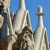 Sagrada Familia has 3 facades - The Nativity, The Passion & The Glory. This is a detail from the Passion facade.