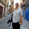Rustem in a Toledo alley way.